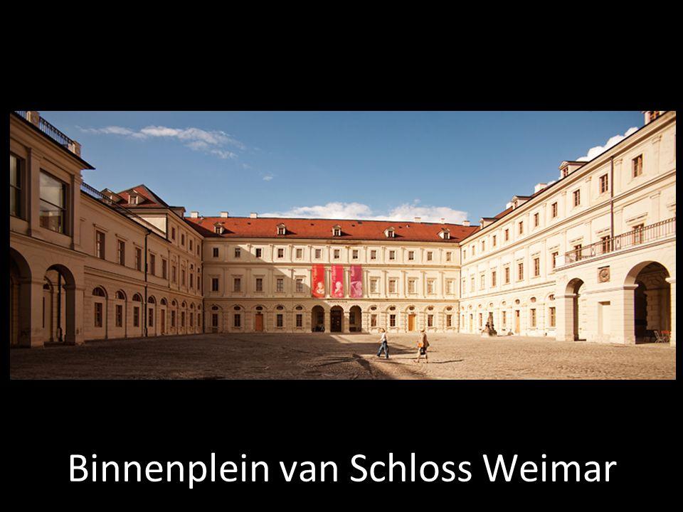 Binnenplein van Schloss Weimar