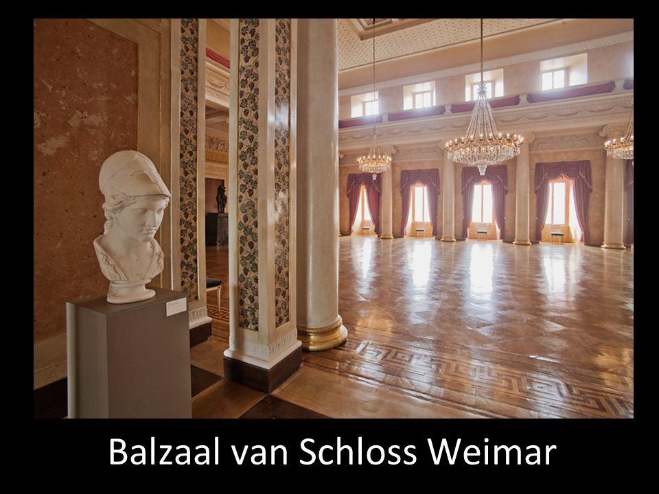 Het gevolg van de komst van Goethe naar Weimar Beroemde literaire tijdgenoten worden ook gevraagd om naar Weimar te komen.