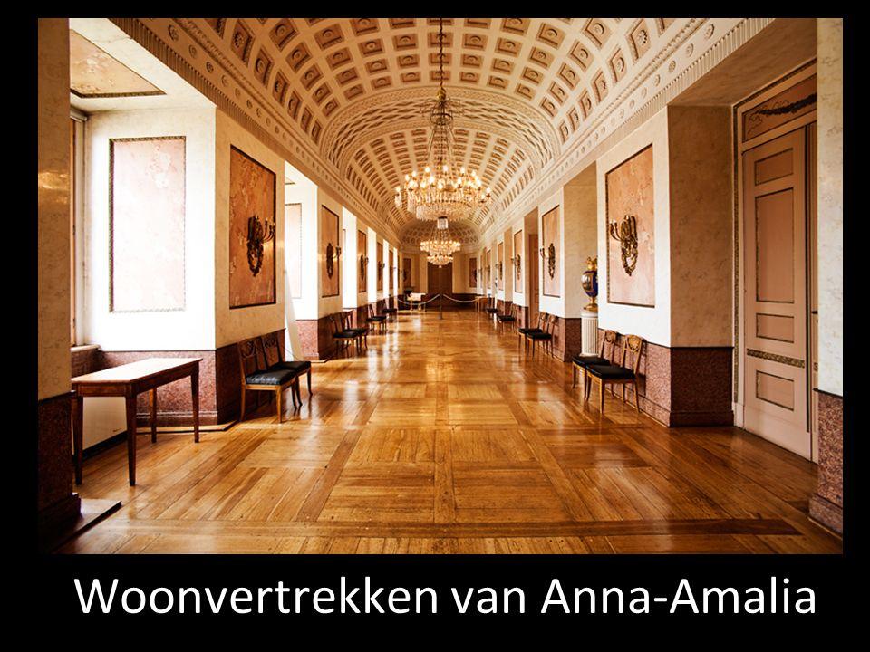 Woonvertrekken van Anna-Amalia