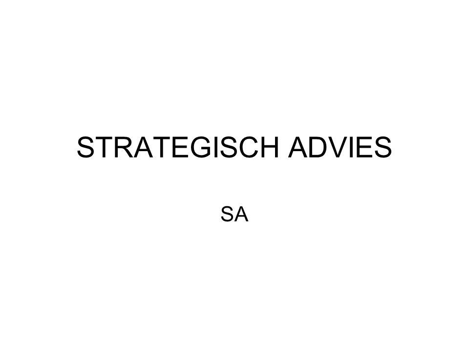 Aanvraag subsidie SA – de projectfiche Selecteer het projectype, omschrijf de nood aan het strategisch advies En geef aan hoe de overeenkomst naar de Vlaamse Overheid wordt opgestuurd en stuur deze op.