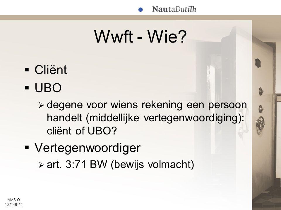 AMS O 102146 / 1 Wwft - Wie.