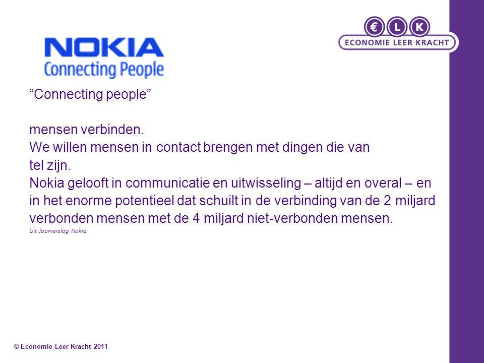 Connecting people mensen verbinden.