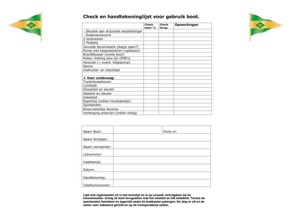 Gebruik buiten Loosdrecht Indien u het vervoer verzorgt voor een RIB buiten Loosdrecht zijn er aanvullende regels.