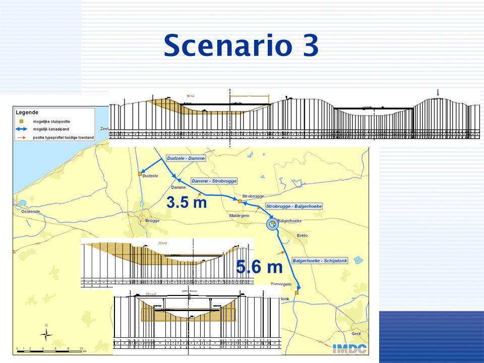 Scenario 3 3.5 m 5.6 m