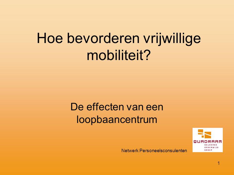 Hoe bevorderen vrijwillige mobiliteit.