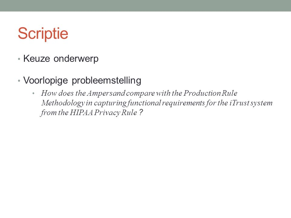 Karakteristieken wetteksten Ambiguïteit / dubbelzinnigheid 164.306(a)(2): ...