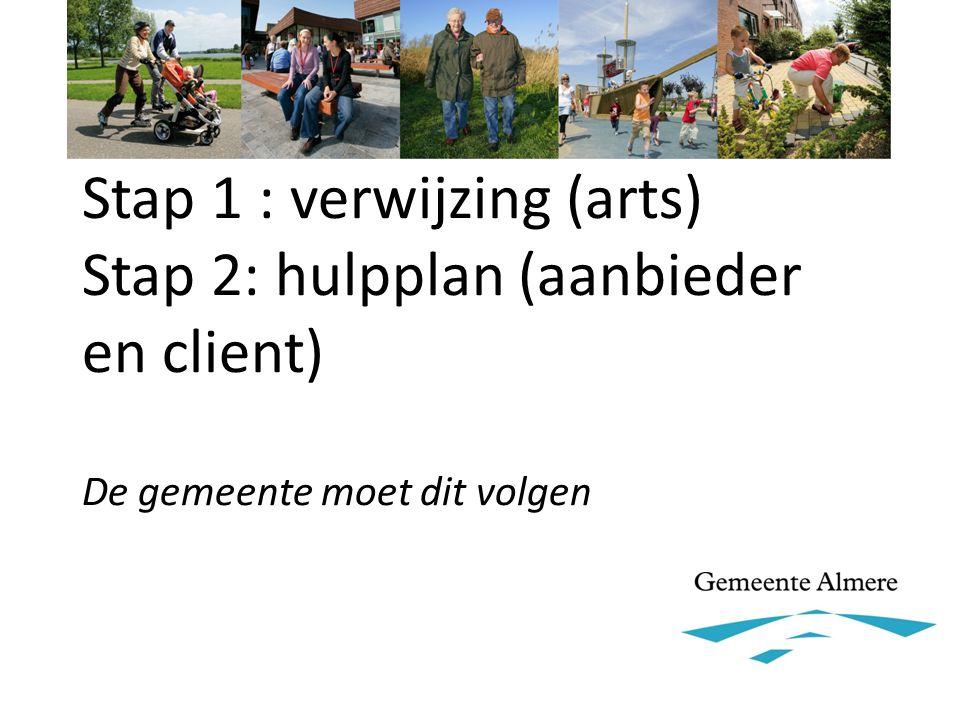 Beschikking is in Almere optioneel