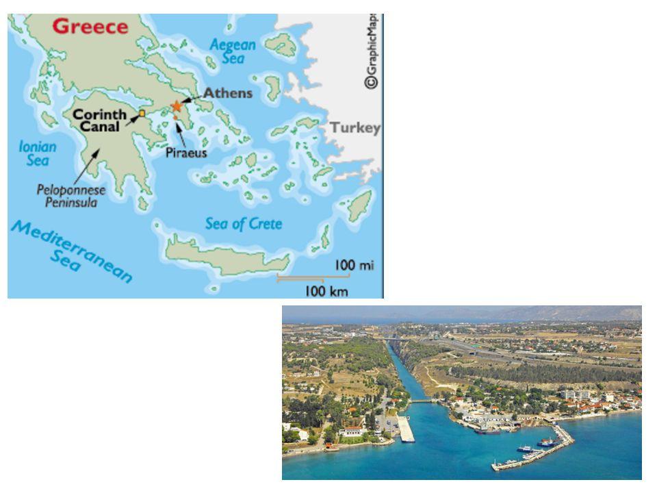 Korinthe.... ... een havenstad met in Paulus dagen rond de 700.000 inwoners;