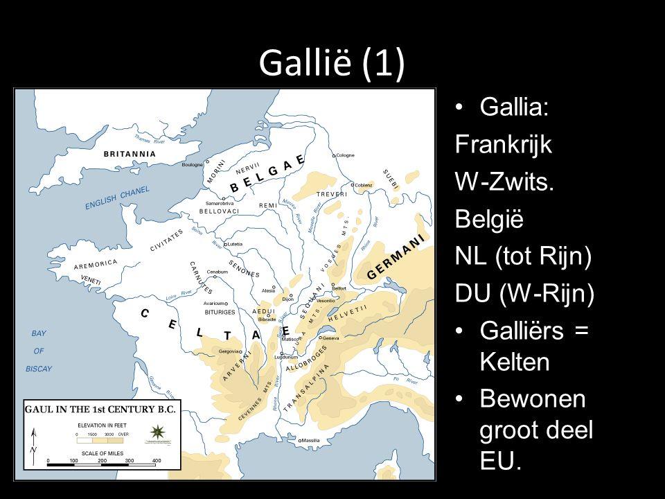 Gallië (1) Gallia: Frankrijk W-Zwits.