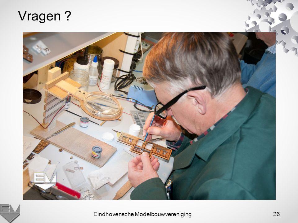Eindhovensche Modelbouwvereniging26 Vragen