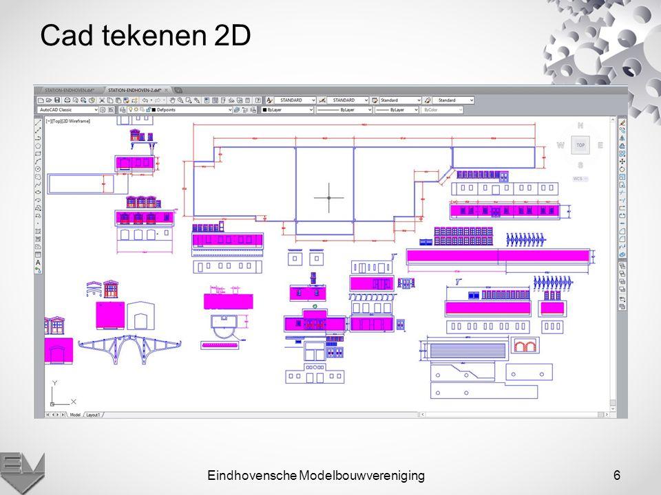 Eindhovensche Modelbouwvereniging6 Cad tekenen 2D