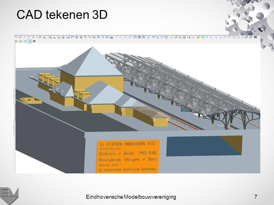 Eindhovensche Modelbouwvereniging8 Lasersnijden van muren