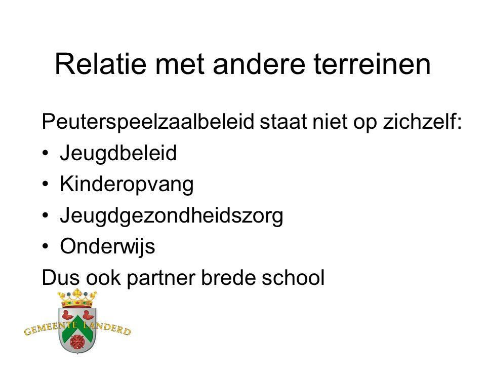 Omschrijving peuterspeelzaalwerk De peuterspeelzaal is een: Ontwikkelingsgerichte Preventieve Basisvoorziening voor kinderen van 2-4 jaar.