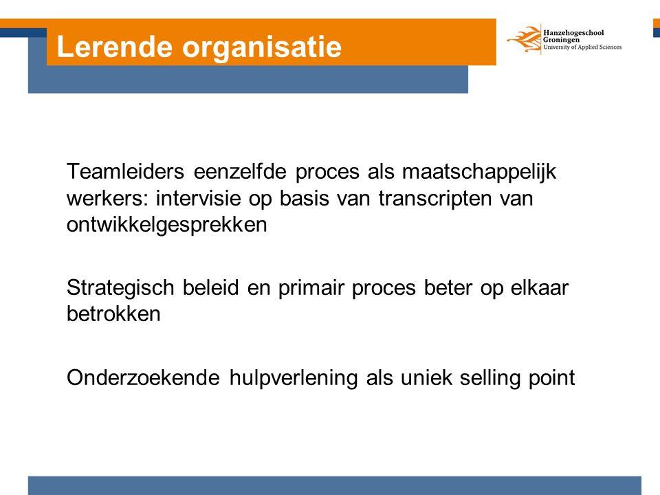 Hulpverleners docent op Hogeschool Rotterdam Onderzoek naar eigen kracht methodieken Waar staan we nu?