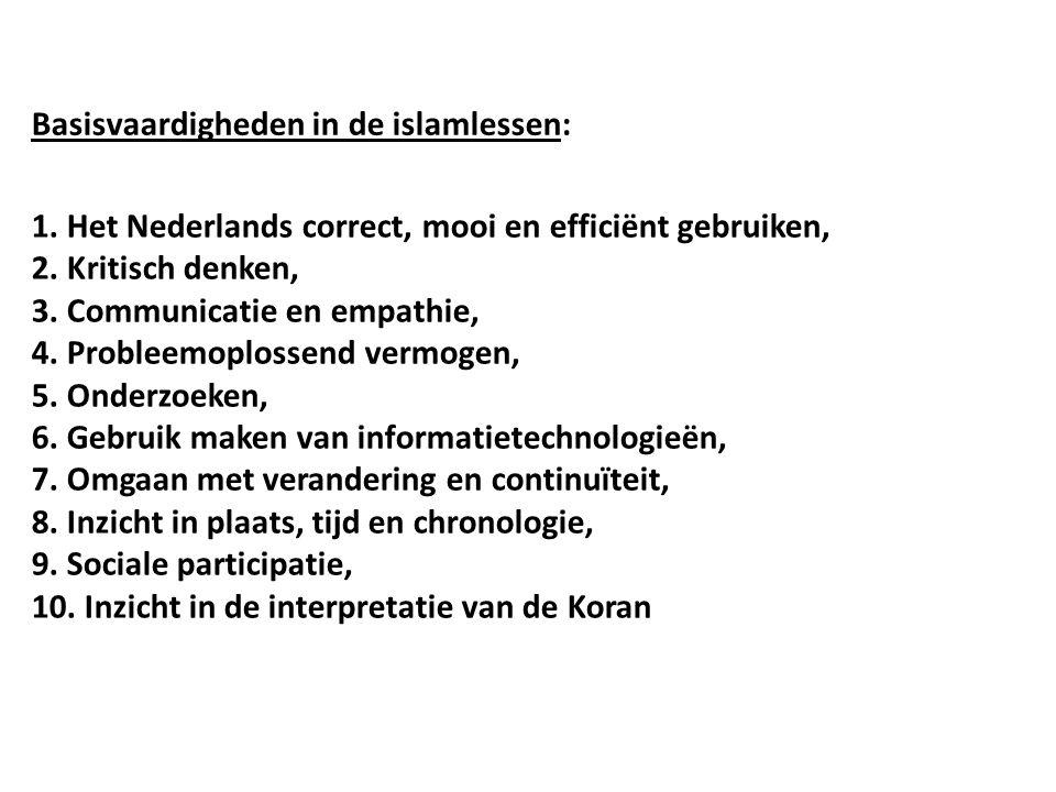1. Het Nederlands correct, mooi en efficiënt gebruiken, 2.
