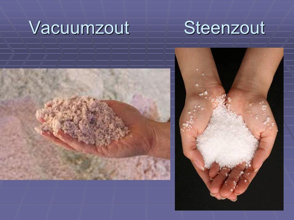 Vacuumzout Steenzout