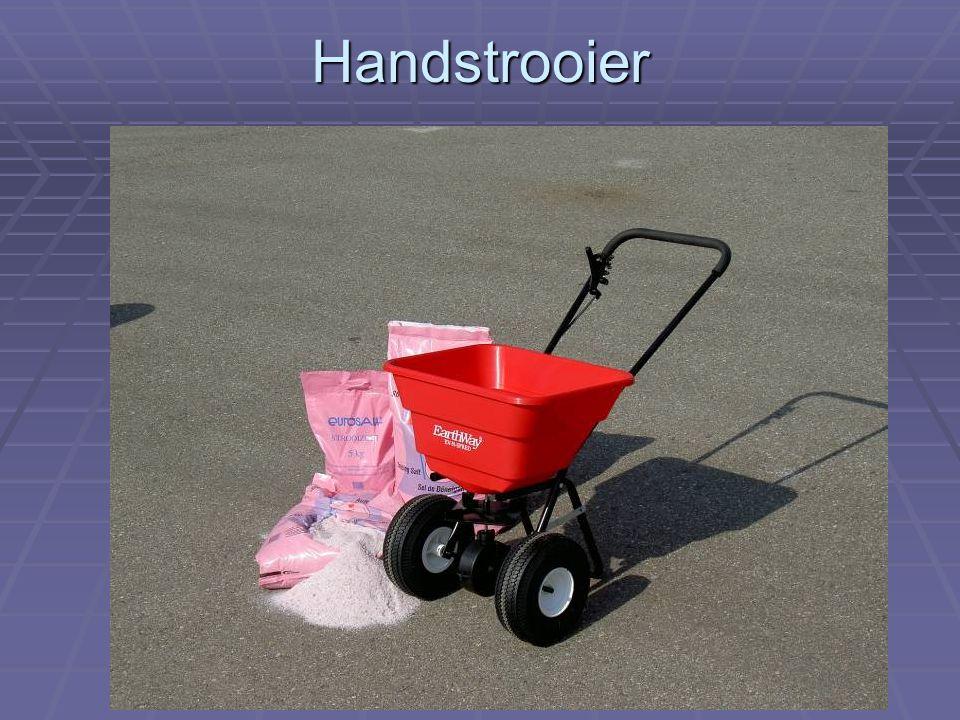 Handstrooier