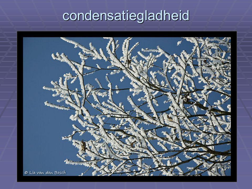condensatiegladheid