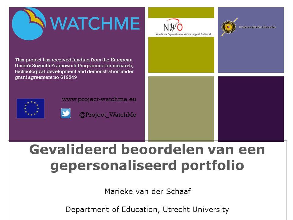 + Electronisch portfolio http://www.leraar24.nl/video/1367 (and /1368) http://www.leraar24.nl/video/1367 2