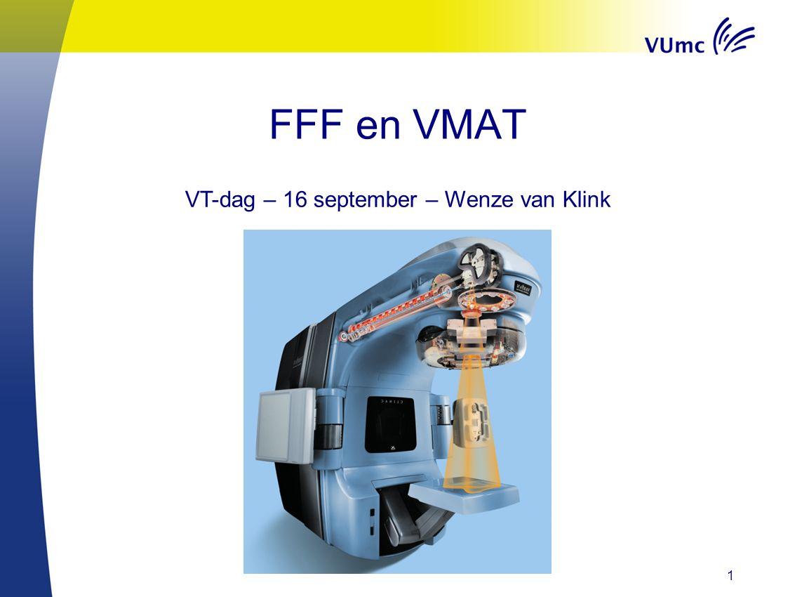 2 Verandering van onze QA door de jaren heen FFF Profielen QC – IBA StarTrack MLC QC – EPID DLG tuning VMAT QC – IBA Matrixx (GAIN) MU1 vs (GAIN) MU2 Beam tuning TrueBeam IsoLock Inhoud
