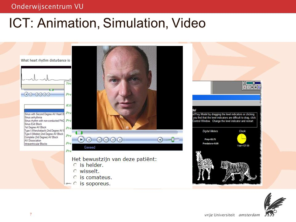 7 ICT: Animation, Simulation, Video