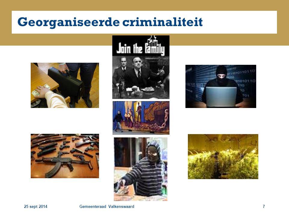 25 sept 2014Gemeenteraad Valkenswaard18 Ontwikkeling 2011-2014 Oost Brabant 05-201103-201304-2014