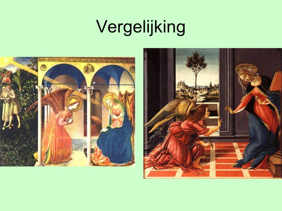 Aanbidding door Drie koningen Als Jezus geboren is komen eerst de herders en later de drie koningen uit het oosten naar de stal om Jezus eer te bewijzen.