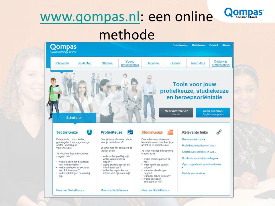 www.qompas.nlwww.qompas.nl: een online methode