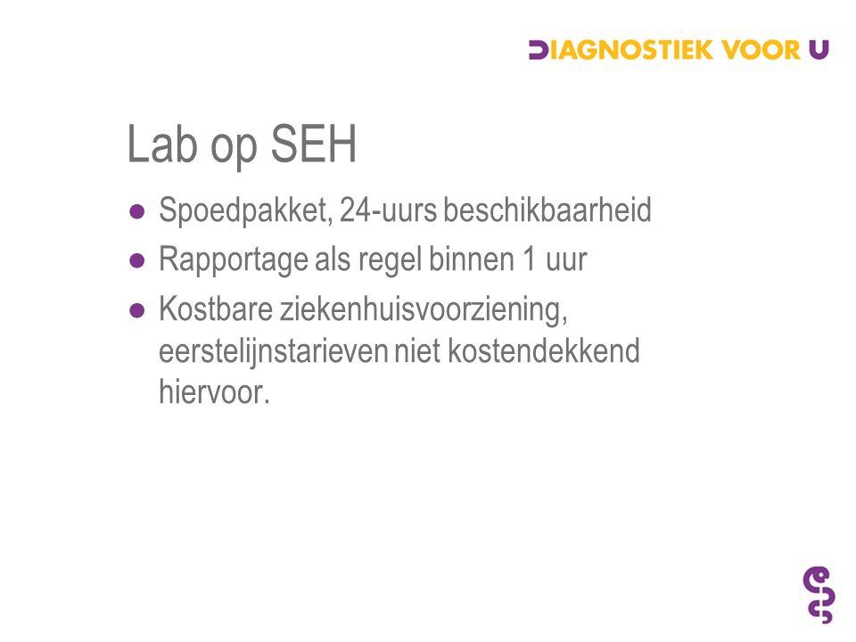 Verbeteringen diagnostiek HAP ●Landelijke infrastructuur van dienstdoende radiologen voor 1 e lijns diagnostiek.