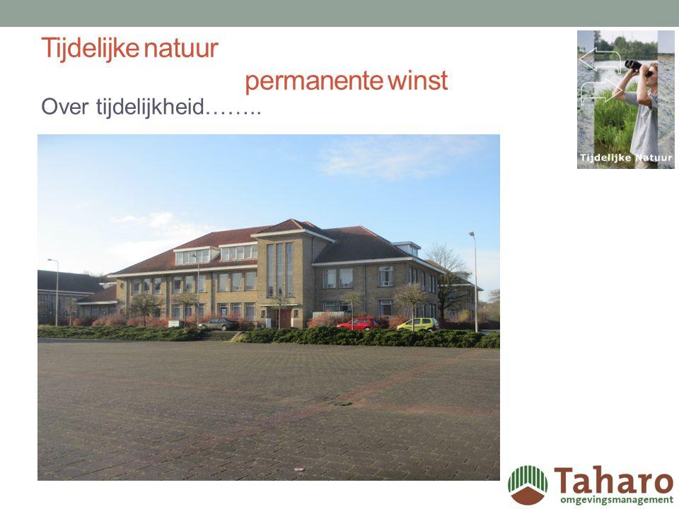 TIJDELIJKE NATUUR PERMANENTE WINST Deel 2, Braakliggende terreinen in de stad…… Ineke Kroes www.taharo.nl