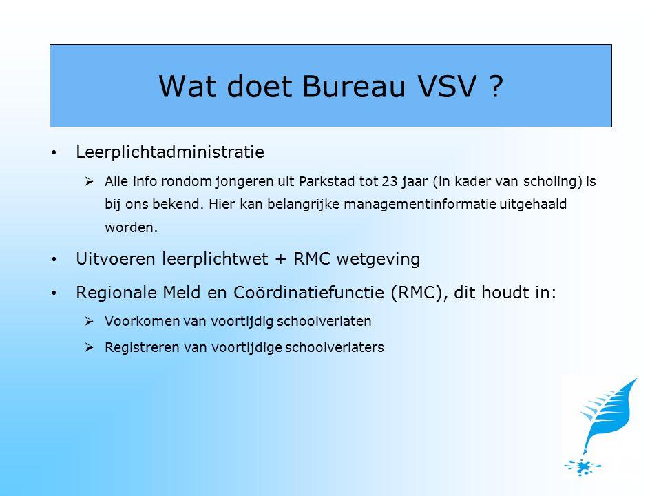 -27- minners die een uitkering aanvragen bij sociale zaken Brunssum worden doorverwezen naar Bureau VSV.