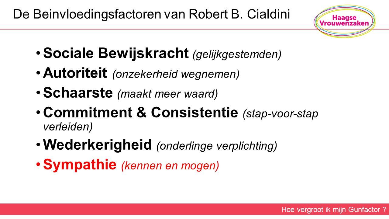 De Beinvloedingsfactoren van Robert B.