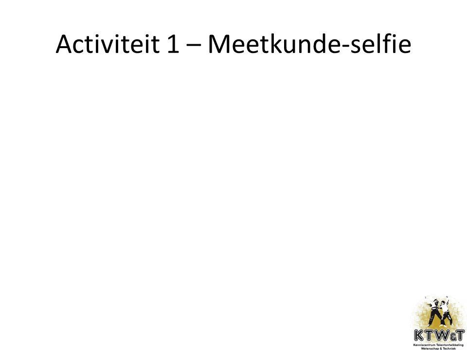 Activiteit 1 – Meetkunde-selfie