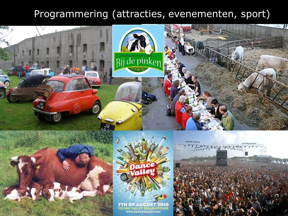 Programmering (attracties, evenementen, sport)