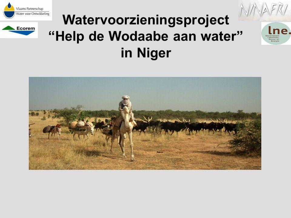 """Watervoorzieningsproject """"Help de Wodaabe aan water"""" in Niger"""