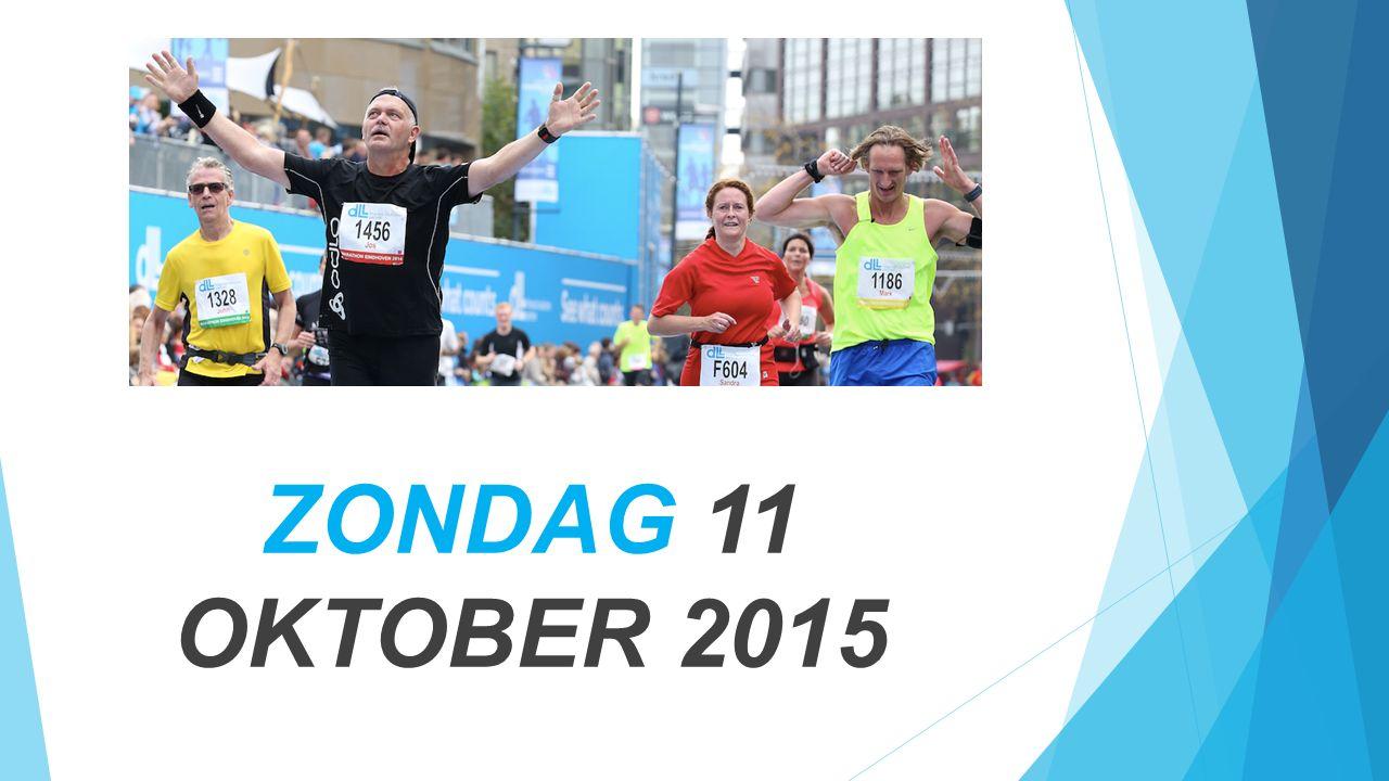 ZONDAG 11 OKTOBER 2015
