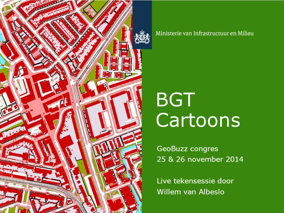 BGT Cartoons GeoBuzz congres 25 & 26 november 2014 Live tekensessie door Willem van Albeslo