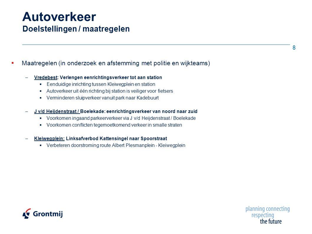 Conclusies  De aansluitpunten van het plangebied op de Kattensingel, Blekersingel en Nieuwe Gouwe Oostzijde kunnen het extra verkeer a.g.v.