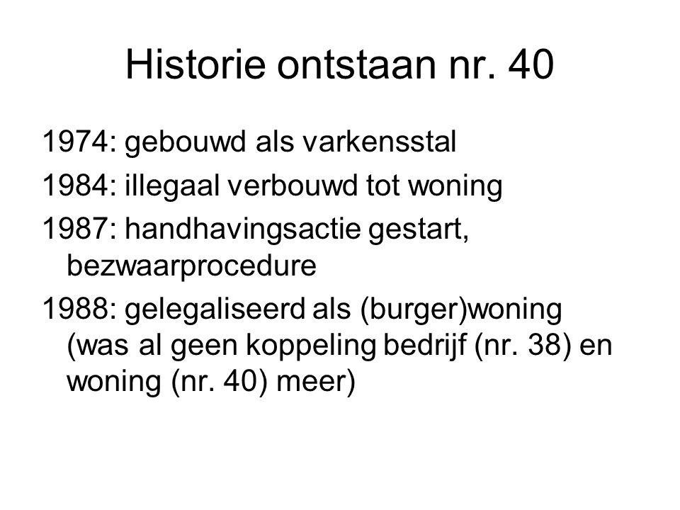 Historie ontstaan nr.