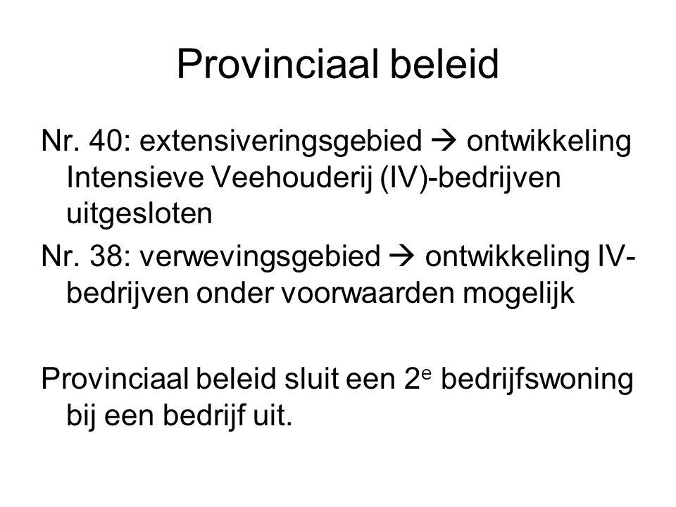 Provinciaal beleid Nr.