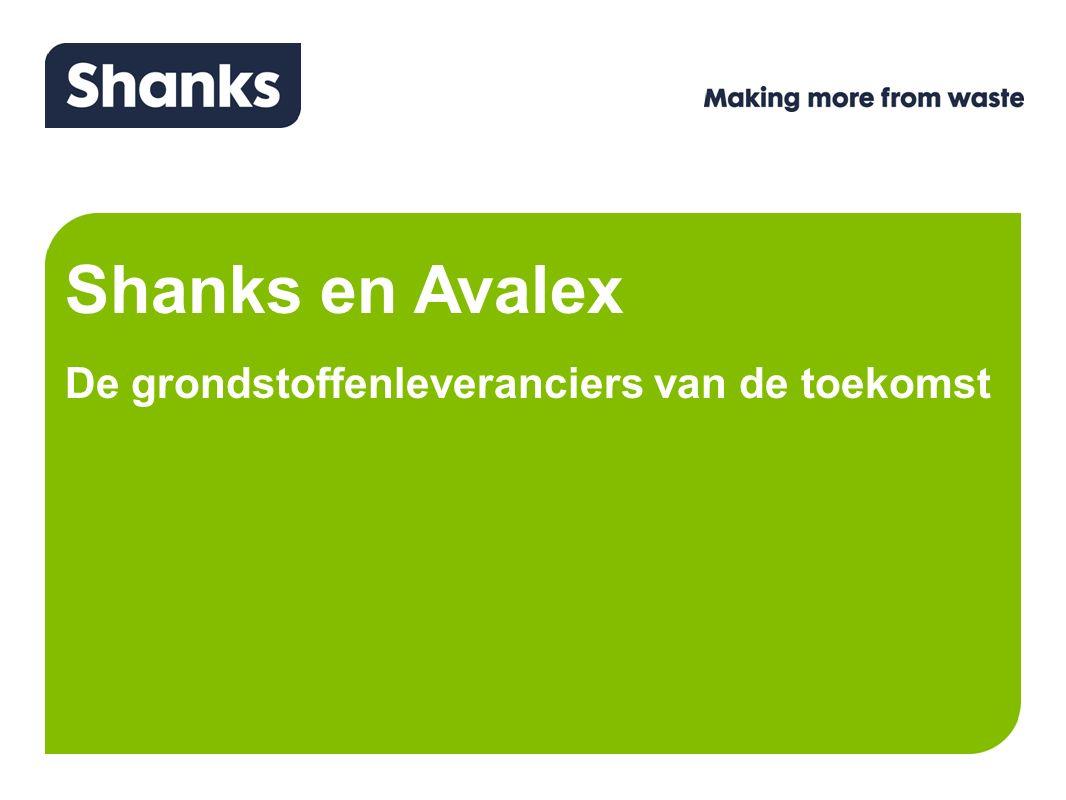 Shanks en Avalex De grondstoffenleveranciers van de toekomst