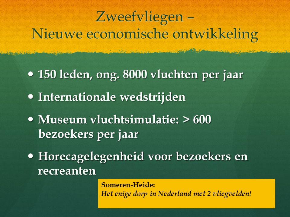 Zweefvliegen – Nieuwe economische ontwikkeling 150 leden, ong.