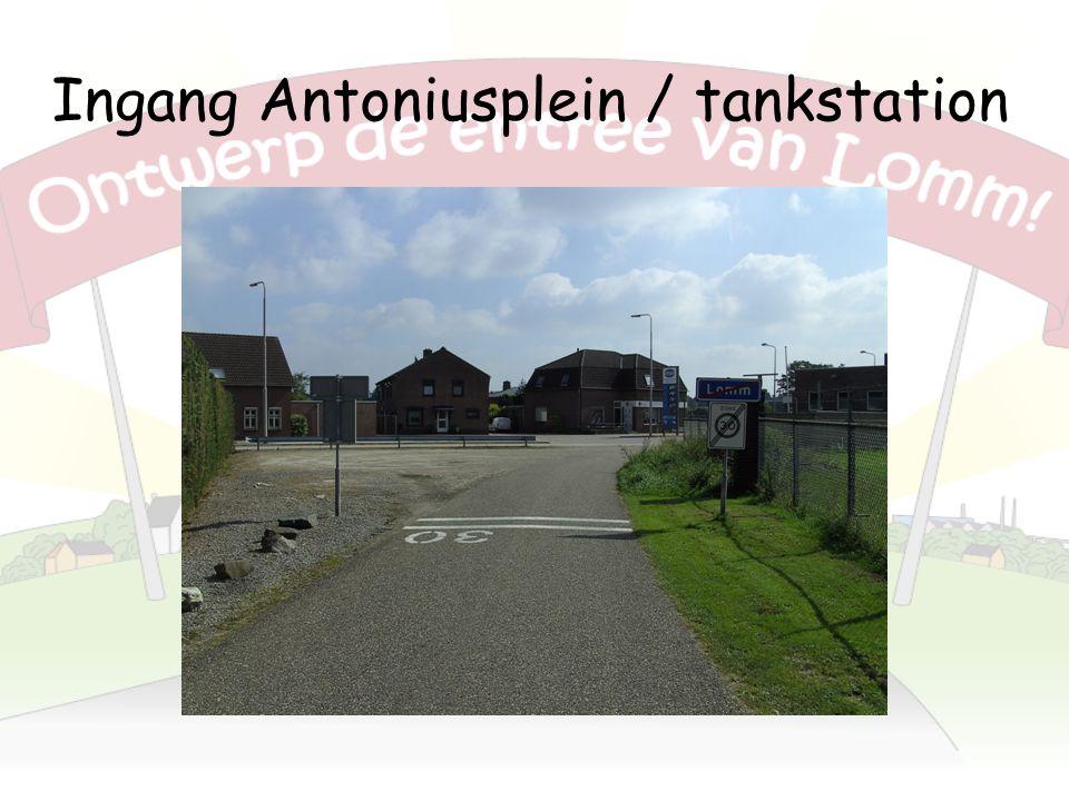 Ingang Antoniusplein / tankstation