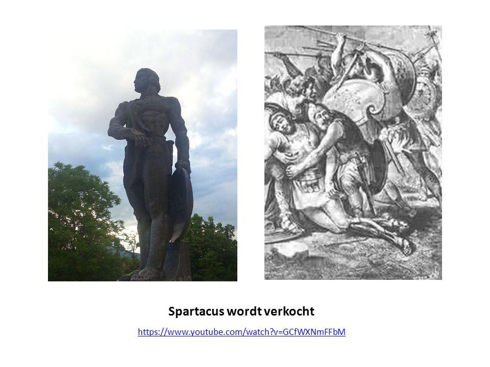 Spartacus wordt verkocht https://www.youtube.com/watch?v=GCfWXNmFFbM