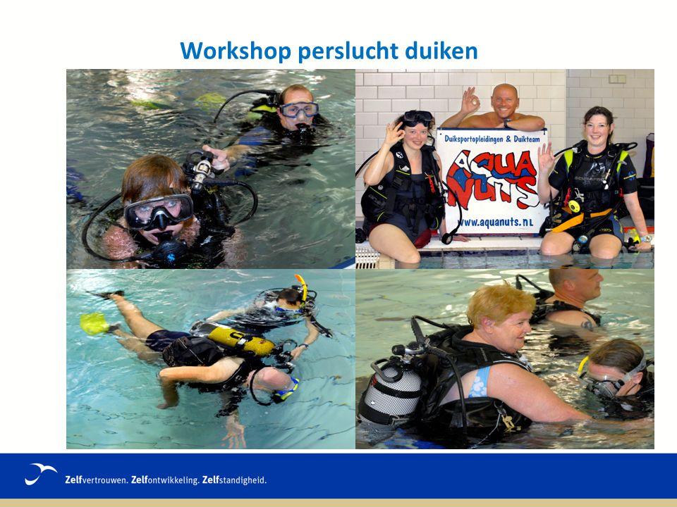 Workshop perslucht duiken