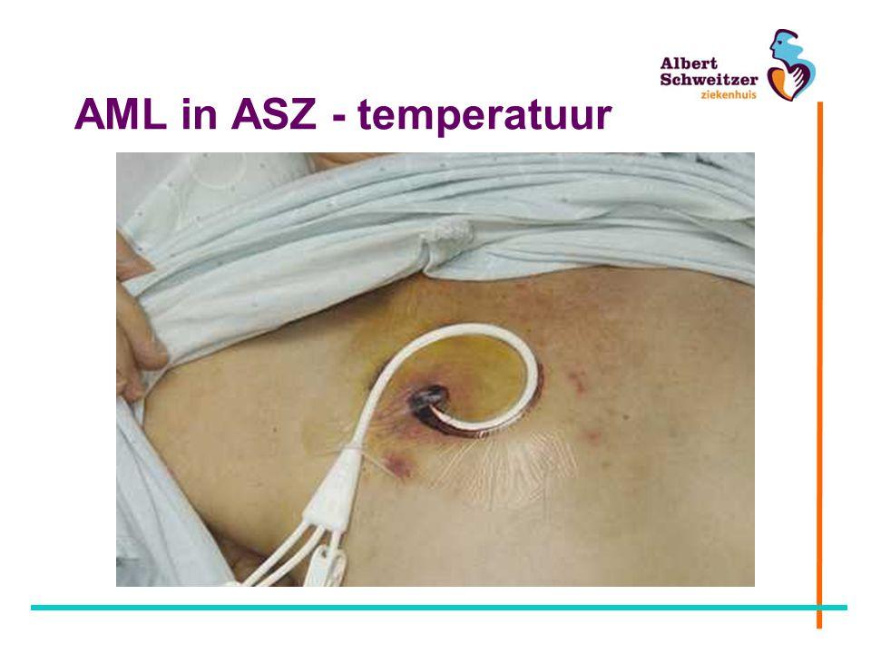 AML in ASZ - temperatuur