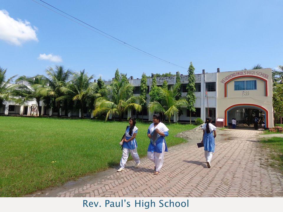 Sponsoravond Bangladesh Rev. Paul's High School
