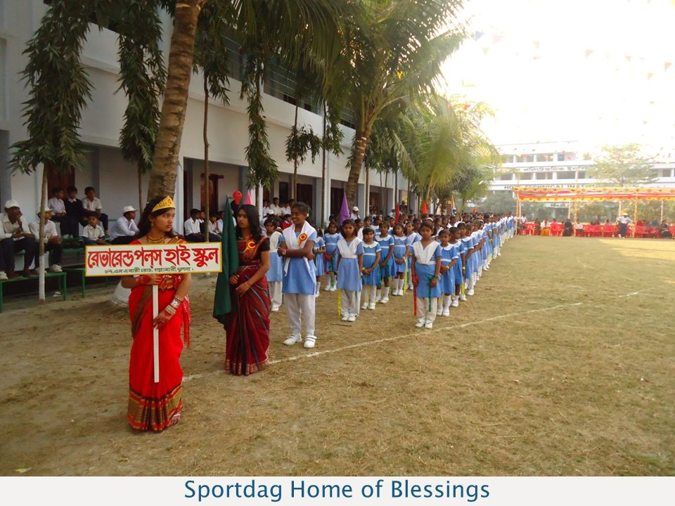 Sponsoravond Bangladesh Sportdag Home of Blessings