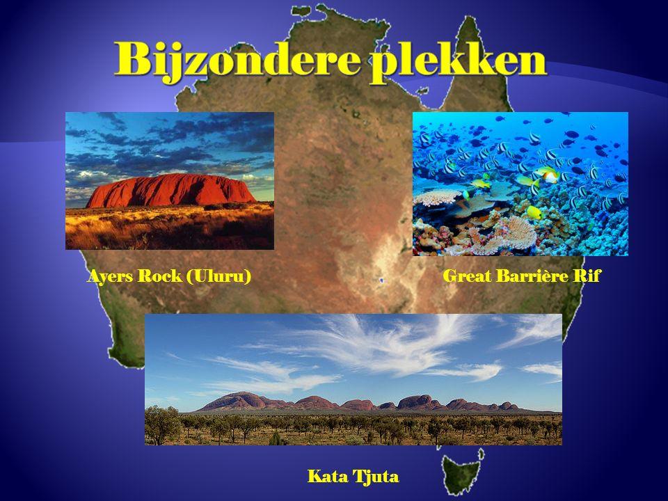 Ayers Rock (Uluru)Great Barrière Rif Kata Tjuta