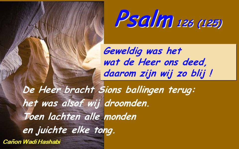 Jes 43,16-21 Zo spreekt de Heer, die door de zee een weg legt, een baan door de onstuimige golven; en die wagen en paard daarover laat aan, leger en s